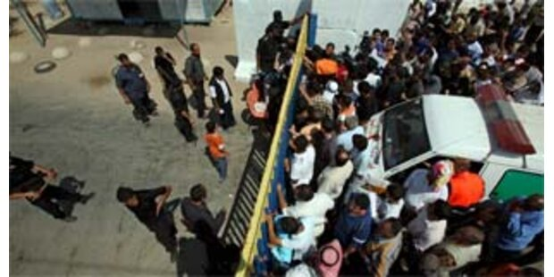 Israel macht Grenzen zum Gazastreifen dicht