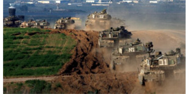 Israelische Truppen dringen in Vorstadt von Gaza vor