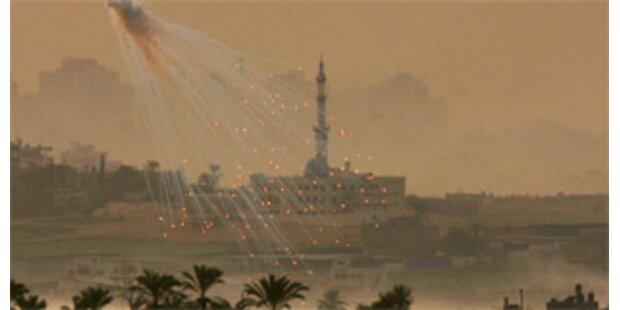 Raketen aus dem Gazastreifen auf Israel