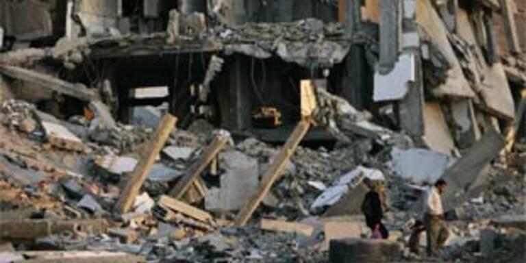 Palästinenser bei Luftangriffen getötet