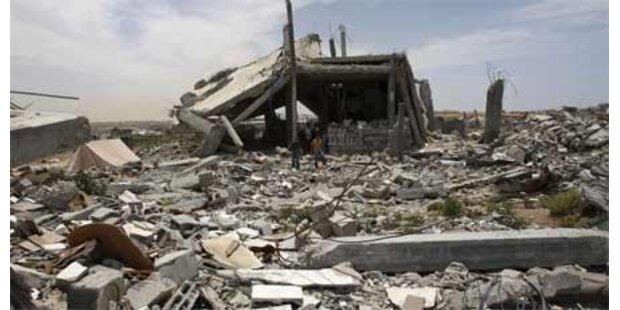 Schock über Zerstörung in Gaza