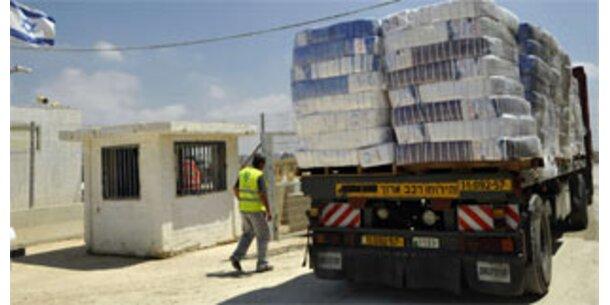 Israel schließt Übergänge zum Gaza-Streifen