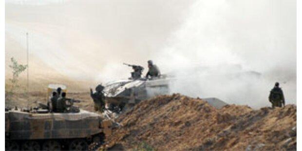 Israel fliegt Angriff im Gaza-Streifen