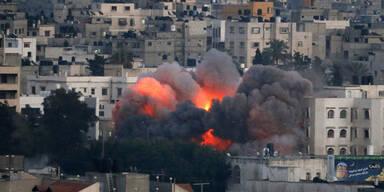 Explosionen in Jerusalem nach Luftalarm