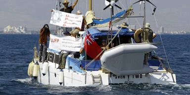 Israel schickt Kriegsschiff zu Gaza-Boot