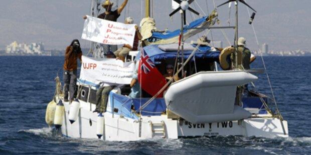 Gaza-Hilfsboot mit Gewalt gestoppt?