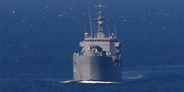 US-Kriegsschiff kollidierte vor Japan mit Frachtschiff