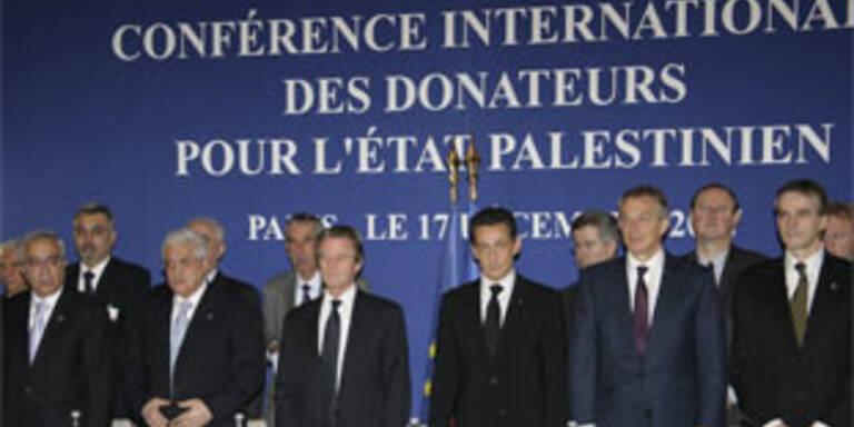 Geberländer spenden Palästinensern 7,4 Mrd. Dollar