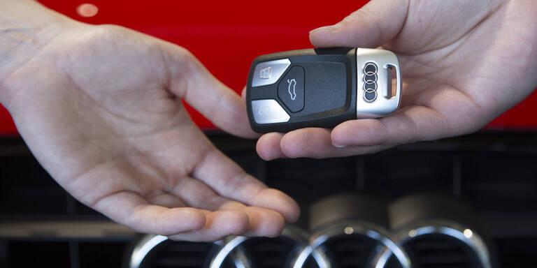 Gebrauchte Premium-Autos gefragt