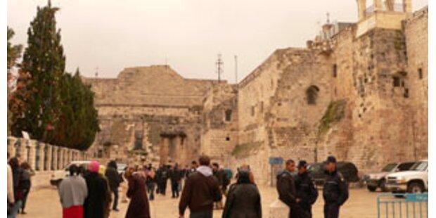 Massenschlägerei zwischen Priestern in Betlehem