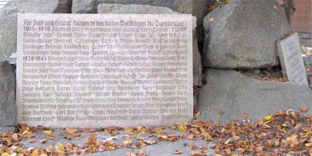 Gestohlene Gedenktafel in Linz wieder aufgetaucht