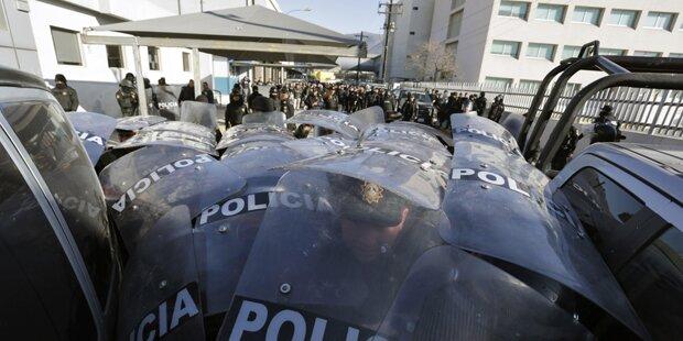 Gefängnisrevolte in Mexiko: 49 Tote