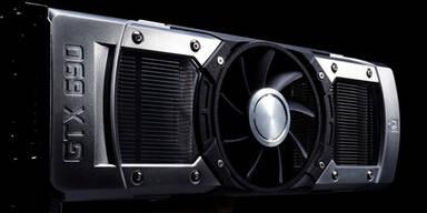GeForce GTX 690: Schnellste Grafikkarte
