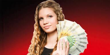 Frau Geld Gehalt