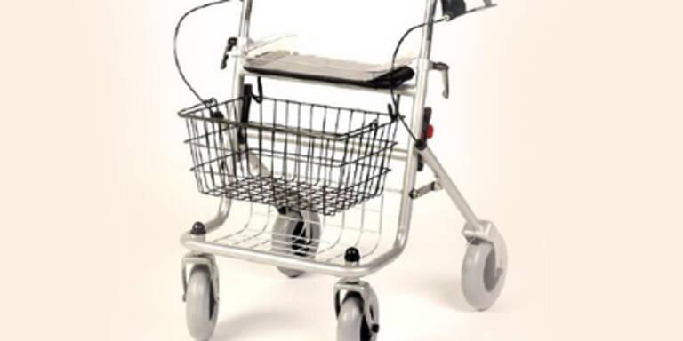 Rentner mit Gehhilfe verjagt Räuber