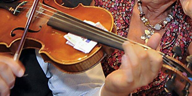 1 Mio-Euro-Geige in S-Bahn vergessen