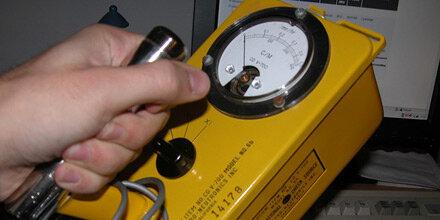 Geigerzähler ausverkauft