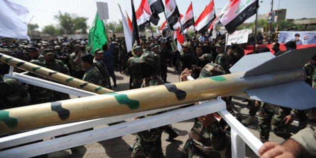 Erste US-Militärberater im Irak eingetroffen