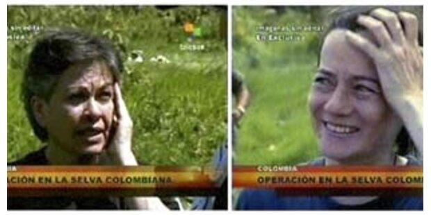 FARC-Geisel Rojas und Gonzalez sind frei