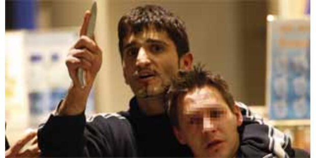Geisel-Drama in Berlin unblutig beendet