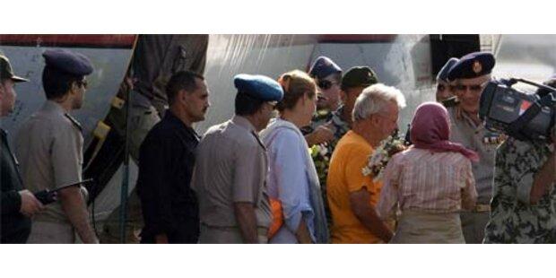 Entführte Touristen in Ägypten gelandet