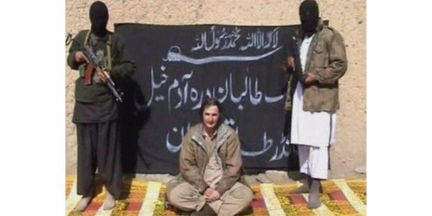 Geisel von Taliban vor laufender Kamera geköpft