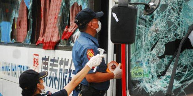 Manila: Polizei räumt schwere Fehler ein