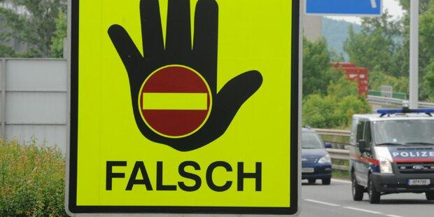 Alkoholisierter Geisterfahrer bei Innsbruck gestoppt