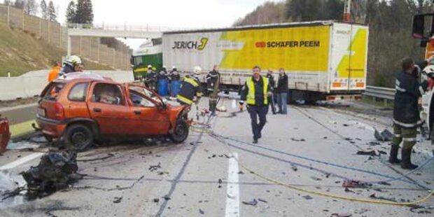 Politikersohn: Selbstmord mit Auto