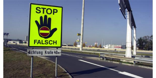402 Geisterfahrer-Alarme in Österreich