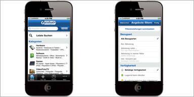 """""""Geizhals""""-App für das iPhone verfügbar"""