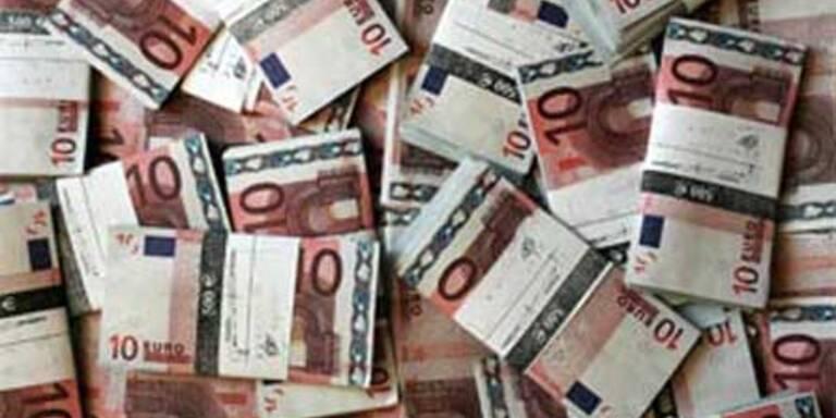 Steuereinnahmen um 1,6 Mrd. niedriger