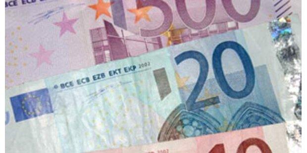 Schmuggler trugen 96 Mrd. Euro im Koffer