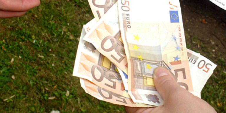 2.000 Euro Strafe für Geldvernichtung