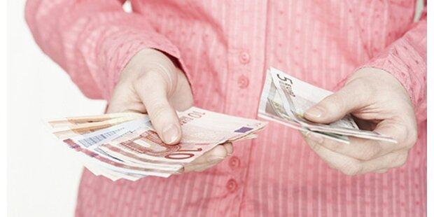 Frauen verdienen weiter weniger