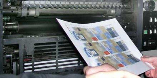 Geldfälscher-Bande in Russland aufgeflogen
