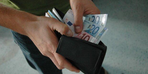 Räuber gab Kleingeld zurück