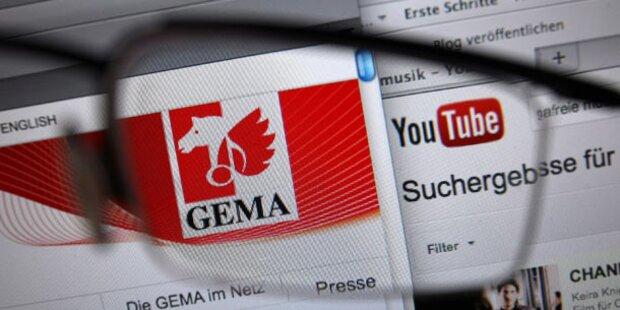 Youtube darf weiter Musik-Videos zeigen