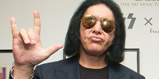 'Kiss'-Gene Simmons solo in Wien