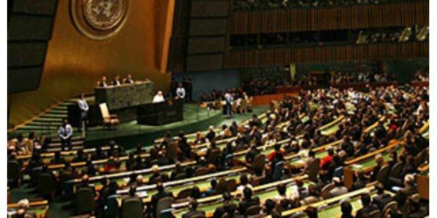 UN-Vollversammlung übt Kritik an USA