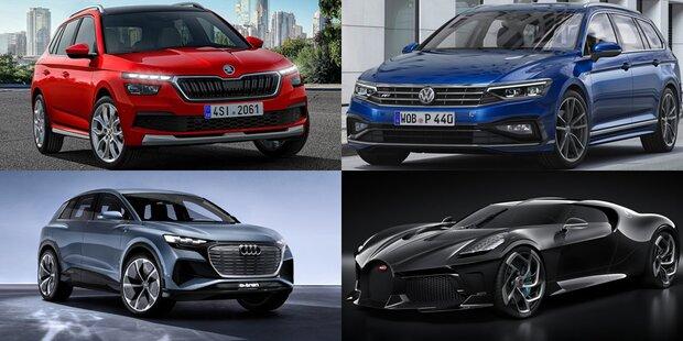 VW-Konzern zündet Neuheiten-Feuerwerk
