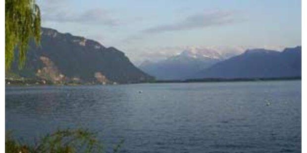 Kleinflugzeug stürzte in Genfer See