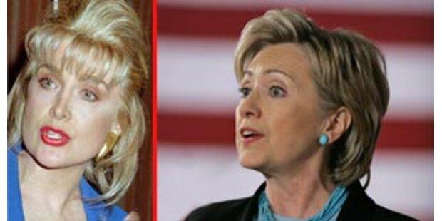 Bill Clintons Ex-Gespielin untstützt Hillary