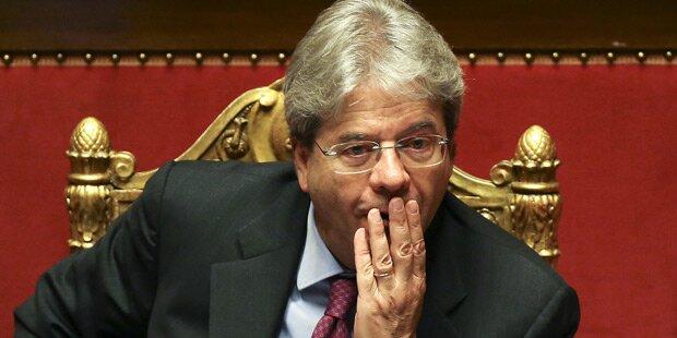 Italiens Premier Gentiloni gewann Vertrauensvotum im Senat