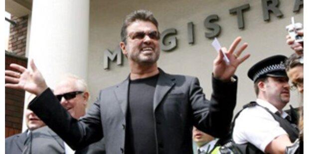 George Michael wegen Drogen festgenommen