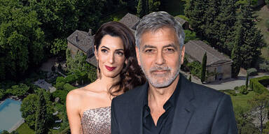 Clooney: Luxus-Weingut zum 60er