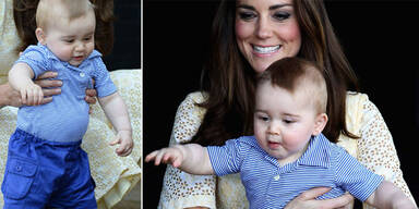 Herzogin Kate, Prinz George