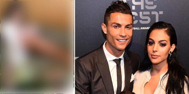 Ronaldos Georgina: Sexy nach Geburt
