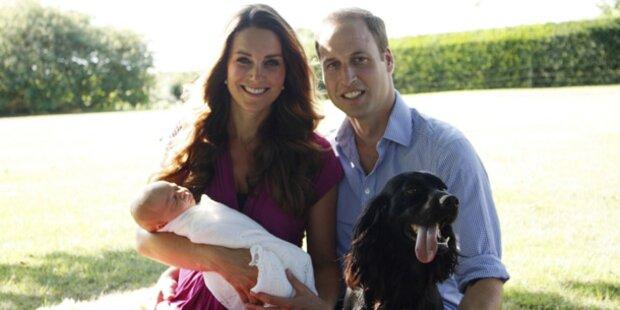 Hier strahlt die Royal-Family