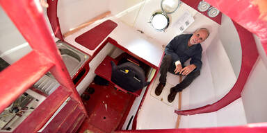 71-Jähriger will Atlantik in Tonne überqueren